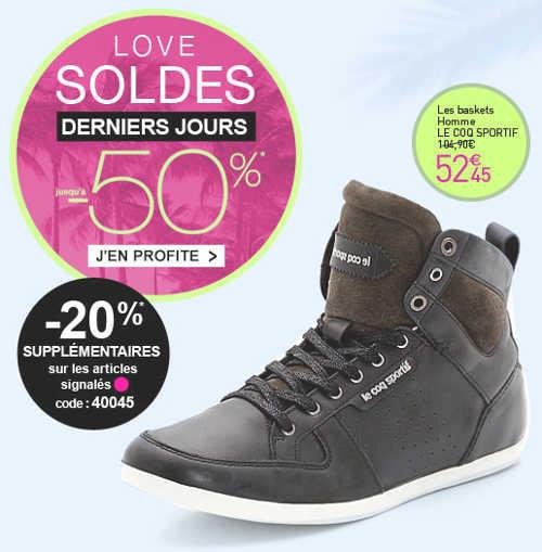 chaussures sur www.laredoute.fr
