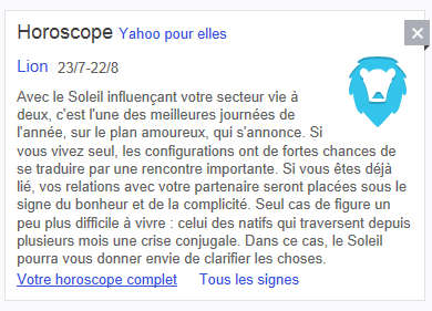 horoscope www.yahoo.fr