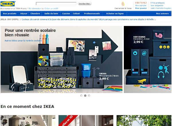 page accueil www.ikea.fr