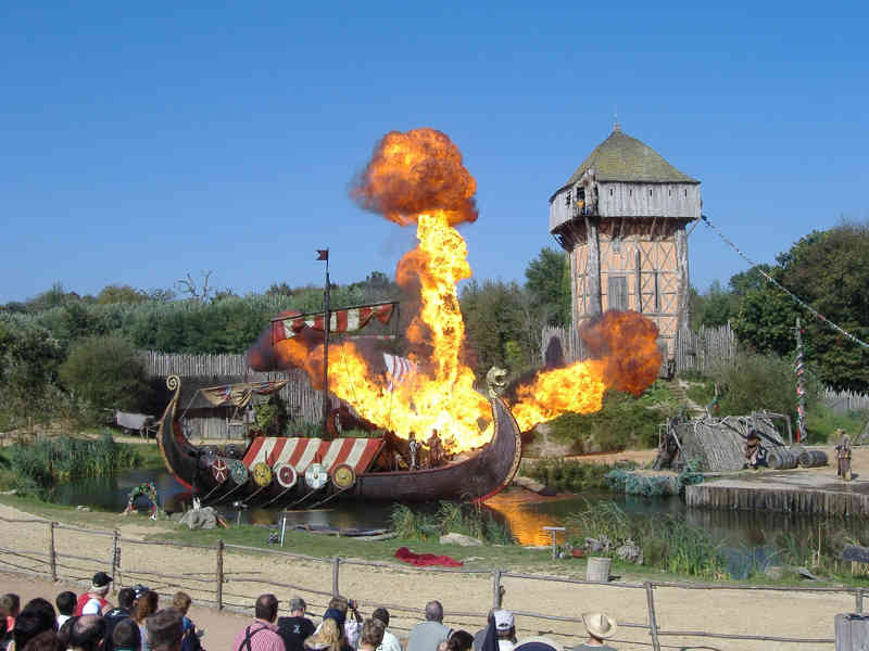L'attaque des viking - le puy du fou